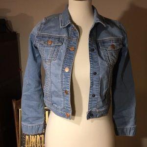 Gap kids large jean jacket